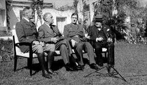 1月14日:カサブランカ会談が開...