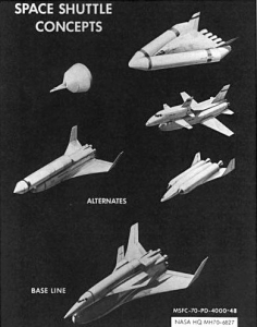 スペースシャトルのコンセプト