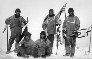 ロバート・スコット南極点到達