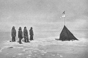 アムンゼン南極点到達