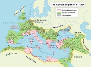 ローマ帝国版図