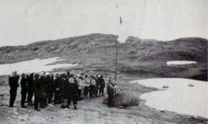 オングル島上陸