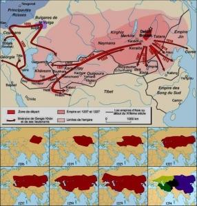 モンゴル帝国の拡大