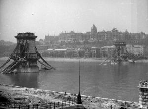 ブダペスト包囲戦後の街の姿