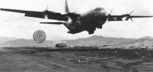 ケサンの戦いでの空輸