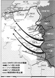 バルジノ戦い 戦闘図