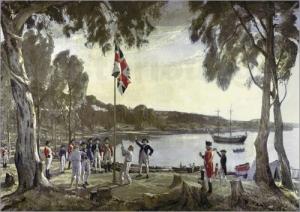アーサー・フィリップのオーストラリア植民開始