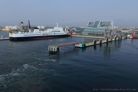 津軽海峡フェリー乗り場ーS-N