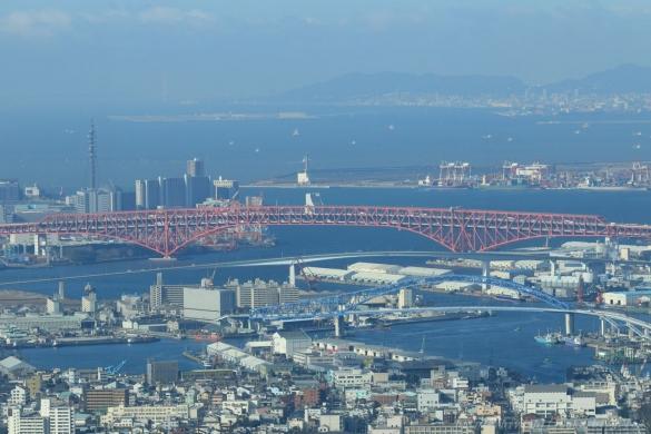 港大橋と神戸方向ーSN