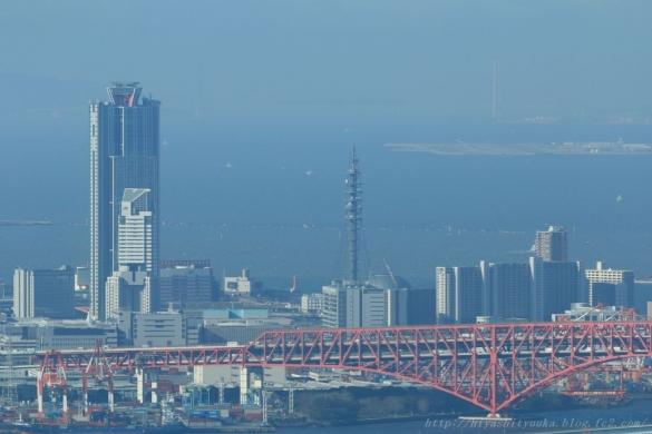 コスモタワーと明石海峡大橋ーSN