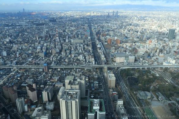 西方向、阪神高速松原線ーSN