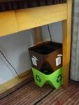 城景國際酒店 机下のゴミ箱