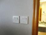 城景國際酒店 浴室スイッチ