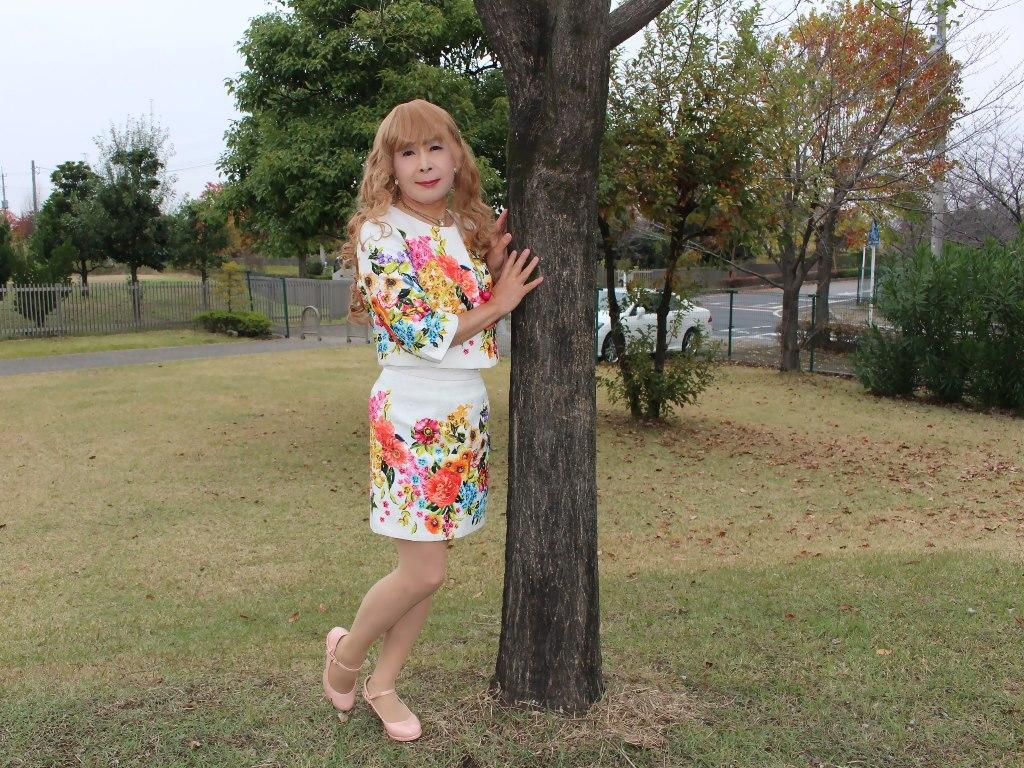 小花柄ミニスーツC(2)