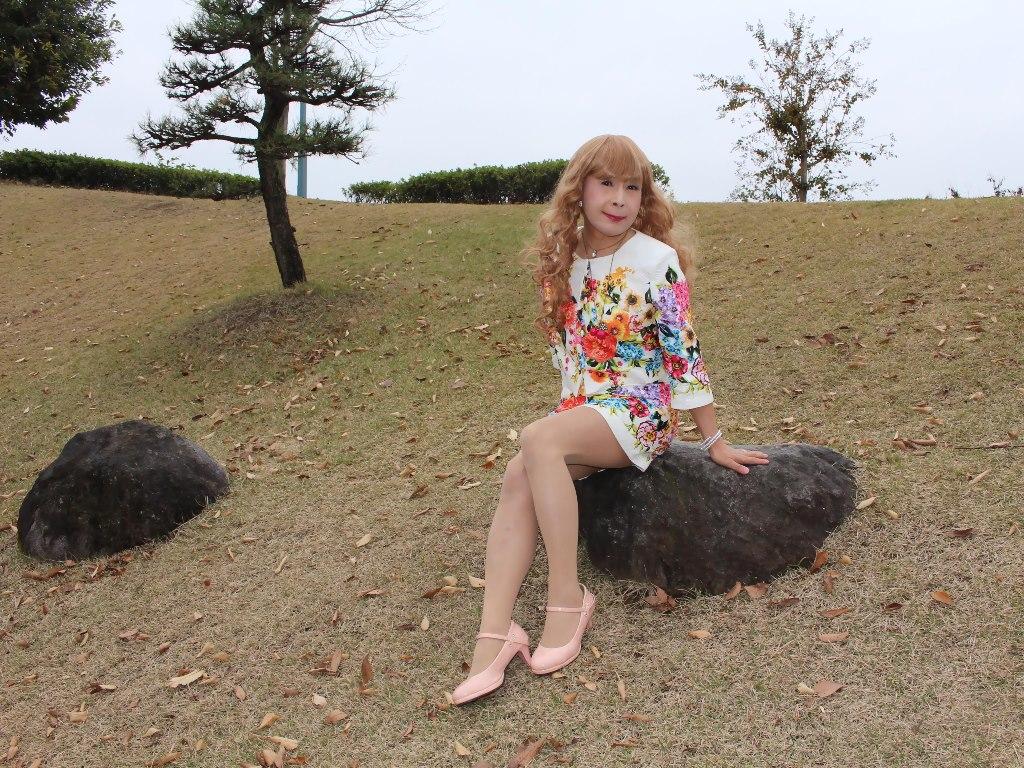 小花柄ミニスーツE(1)