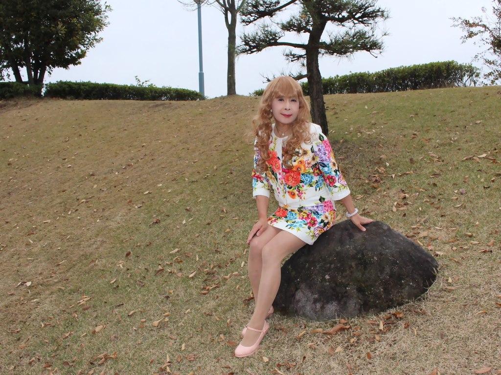 小花柄ミニスーツE(4)