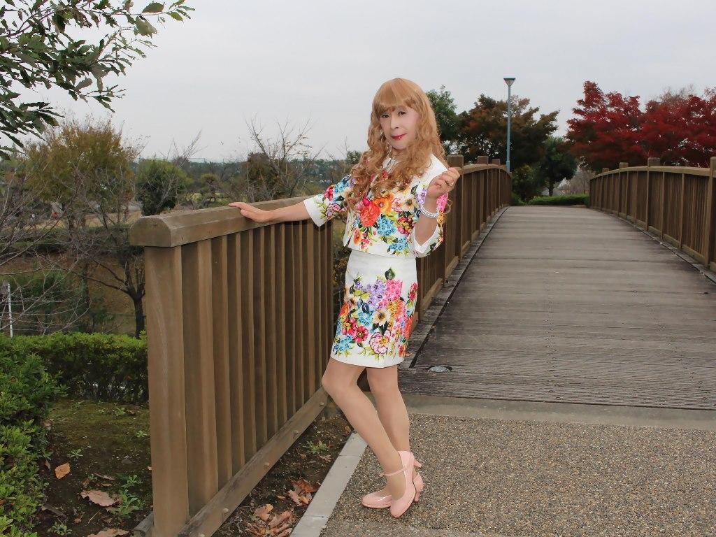 小花柄ミニスーツE(8)
