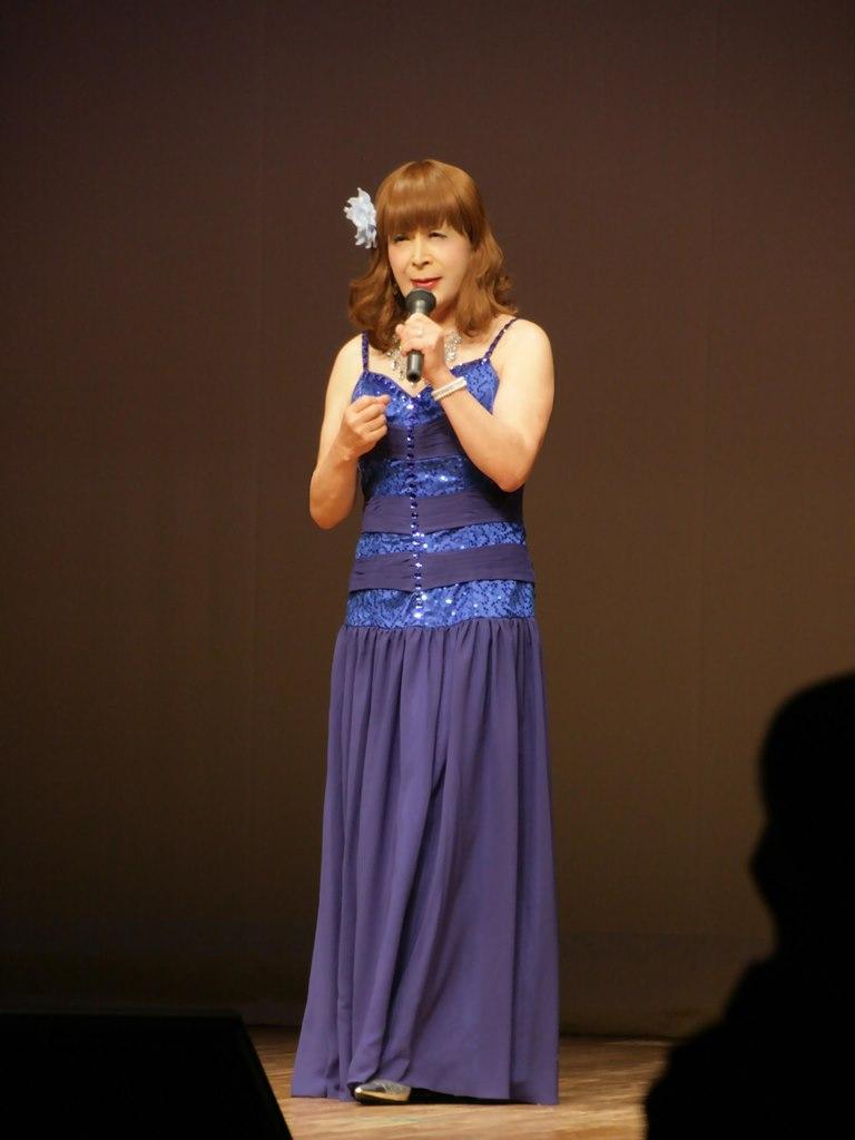 青紫のドレス舞台B(1)