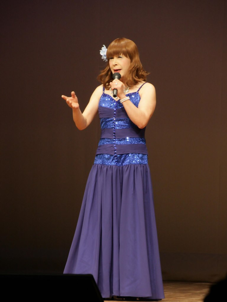 青紫のドレス舞台B(2)