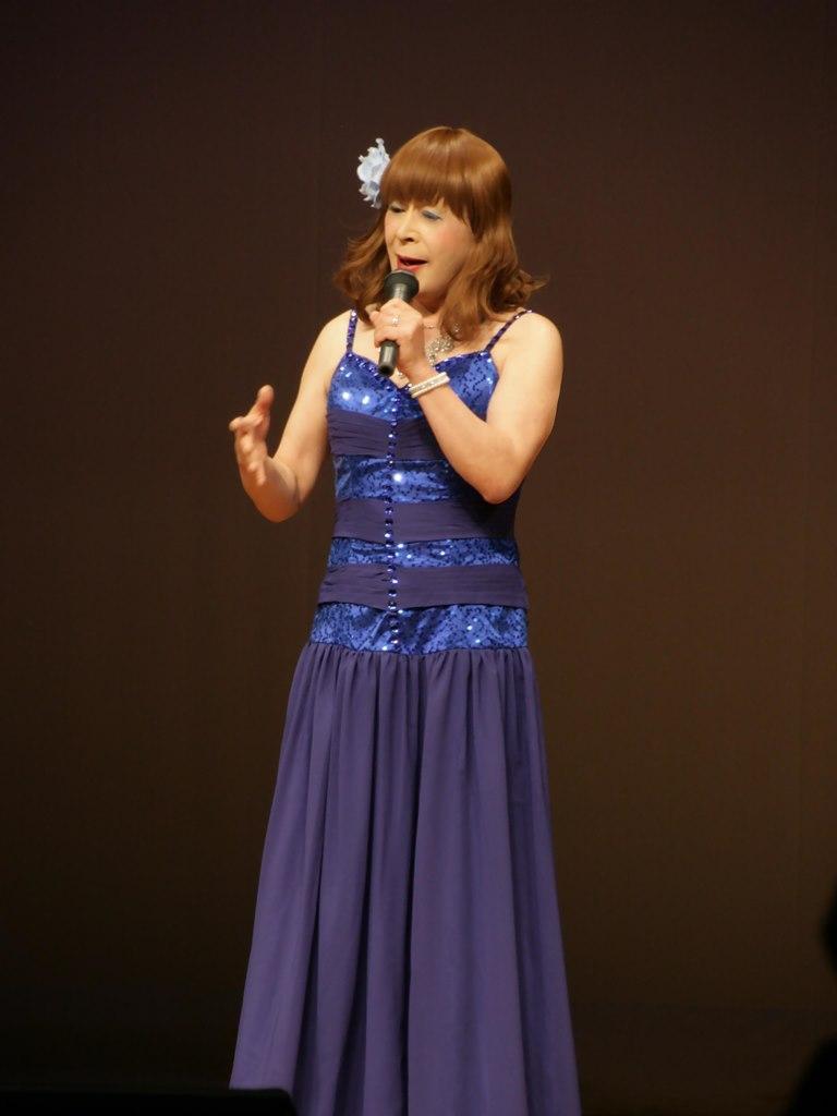 青紫のドレス舞台B(4)
