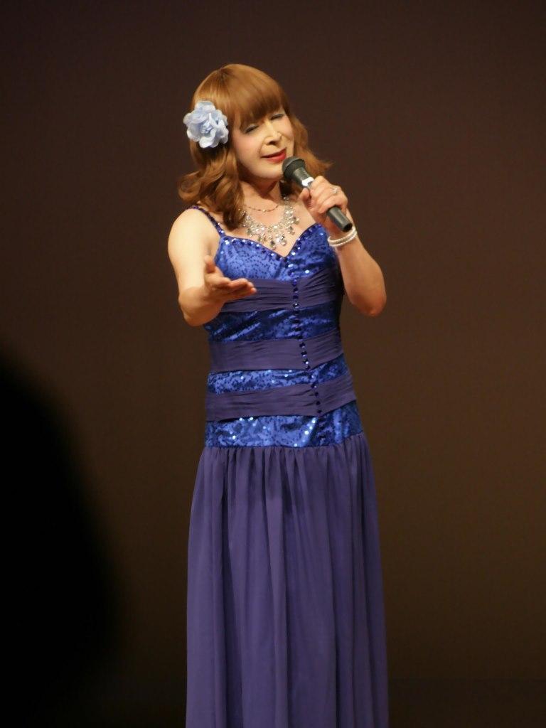 青紫のドレス舞台B(5)