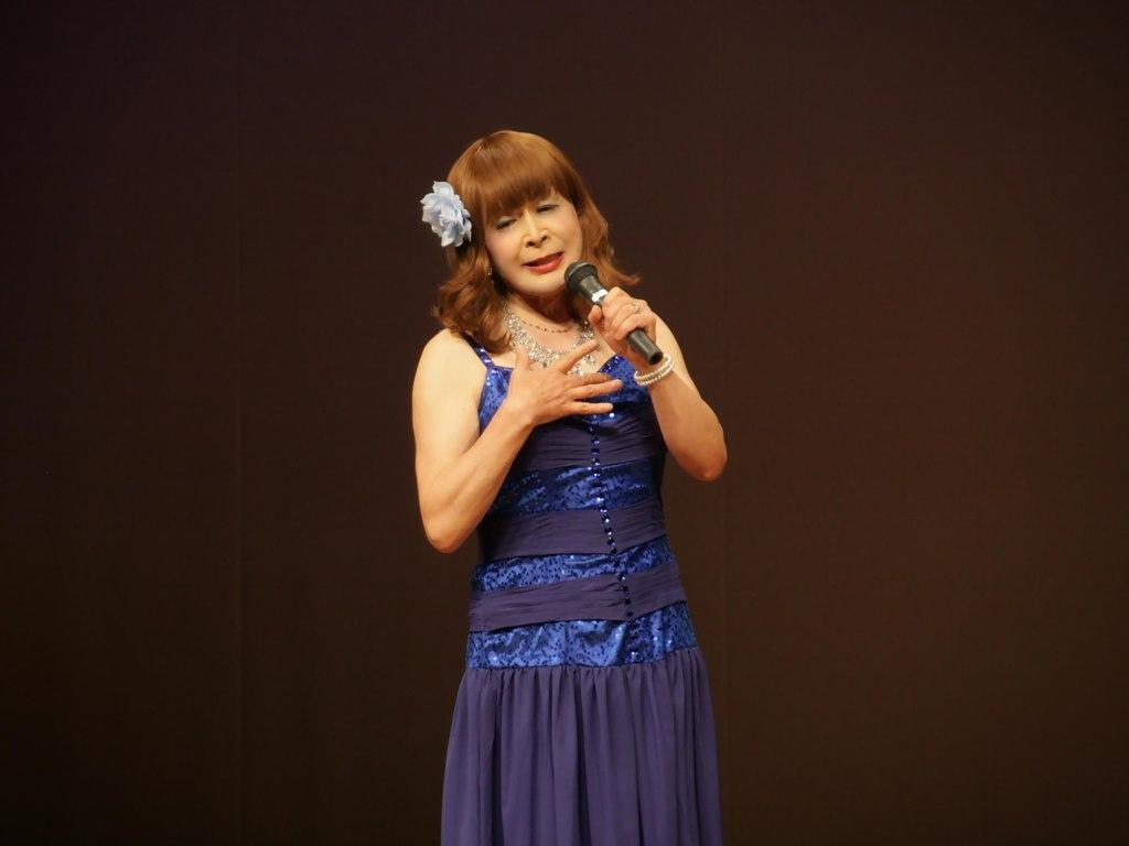 青紫のドレス舞台B(6)