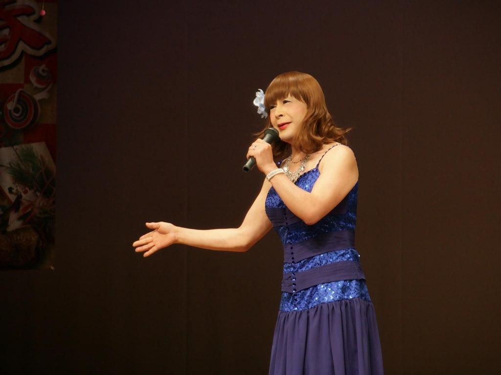 青紫のドレス舞台B(7)