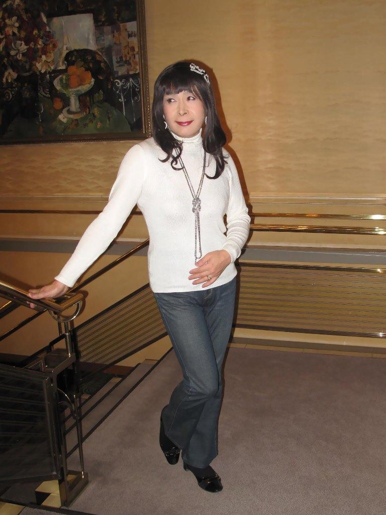 京都国際ホテル階段(4)