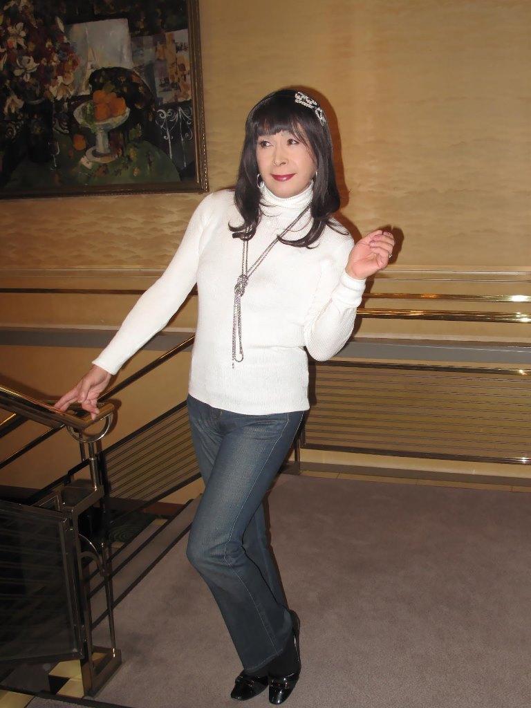 京都国際ホテル階段(5)