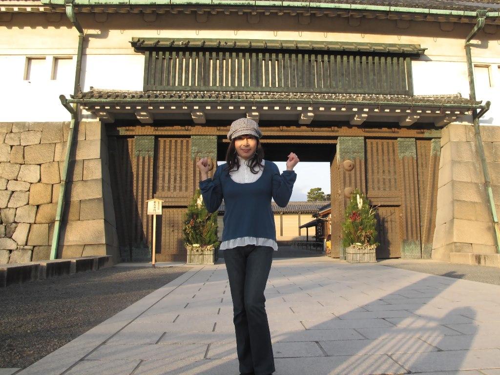 二条城にて(1)