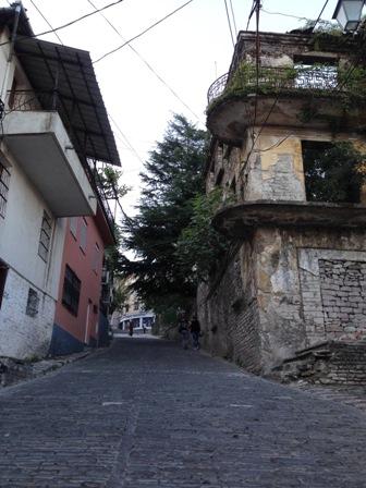 旧市街地の斜面1