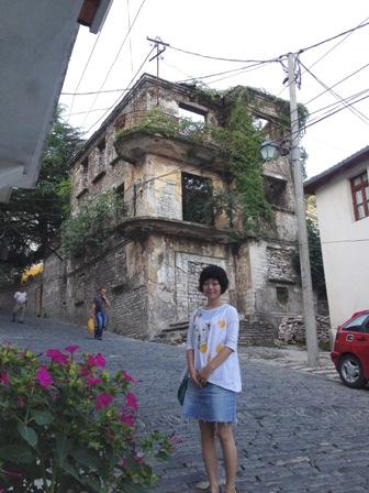 旧市街地の斜面3
