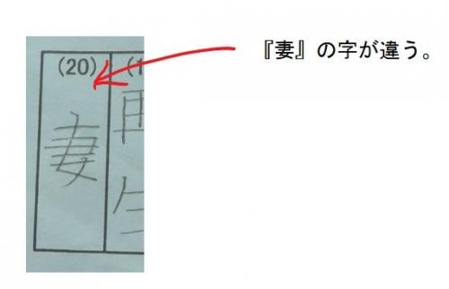 漢字の覚え間違え