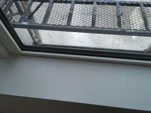 交換後の窓