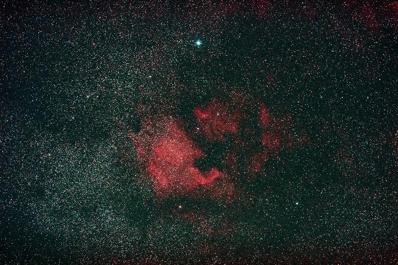 北アメリカ星雲kai