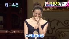米倉涼子ノーブラ谷間画像3