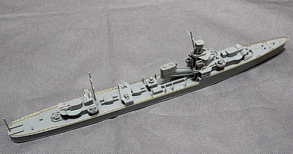 軽巡洋艦ゆうばり-1