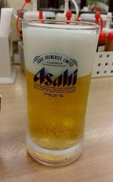 生ビール150円松屋