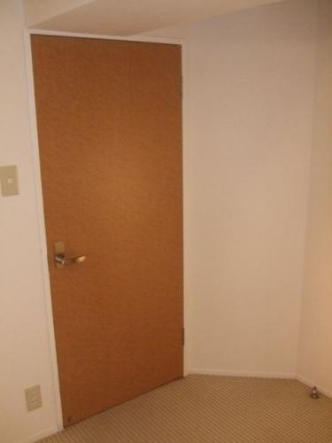交換取付けしたドア