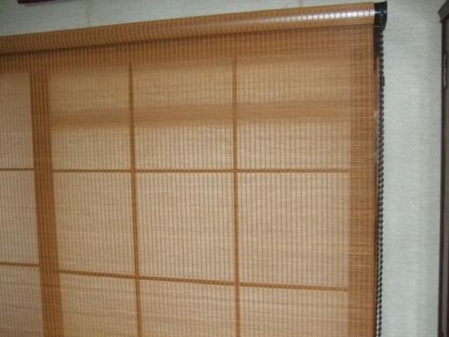 タチカワブラインド ラルク 竹スダレ RS-5107 和-なごみ-ブラウン