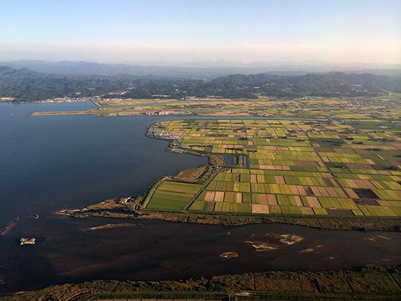 島根県出雲付近を撮影