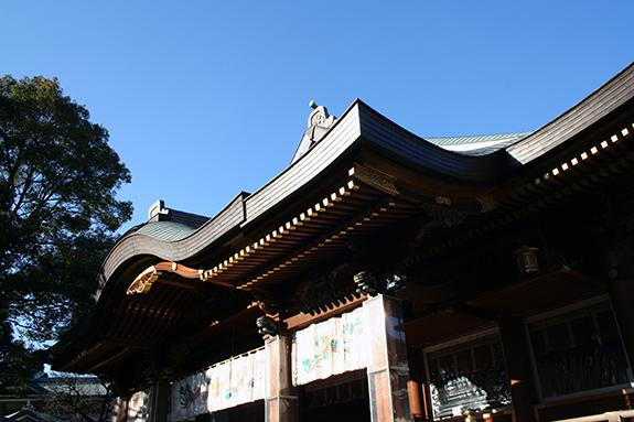 湯島天神社殿