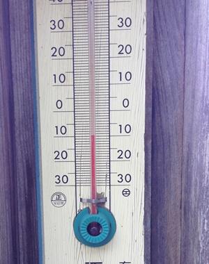 温度計 -10度