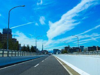 高速道路で眠い