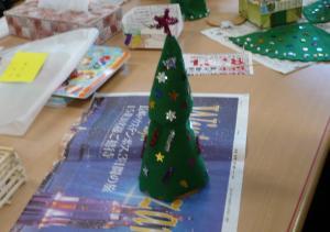 フエルトクリスマスツリー2