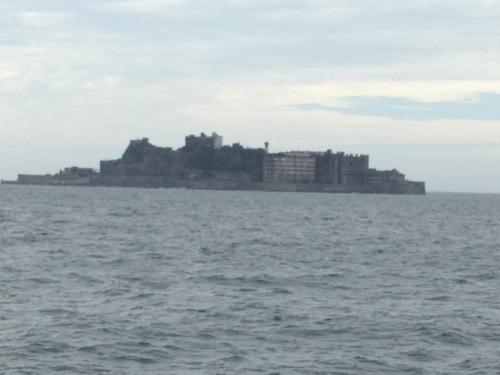 軍艦島に行きました。
