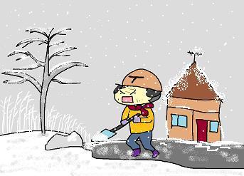 いきなりどか雪