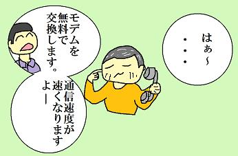 不審な電話