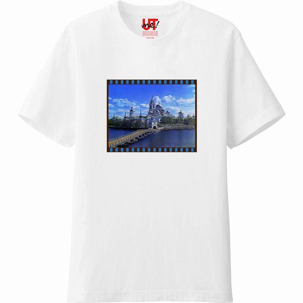 Nilov_Monastery_emboss_histogramTシャツ