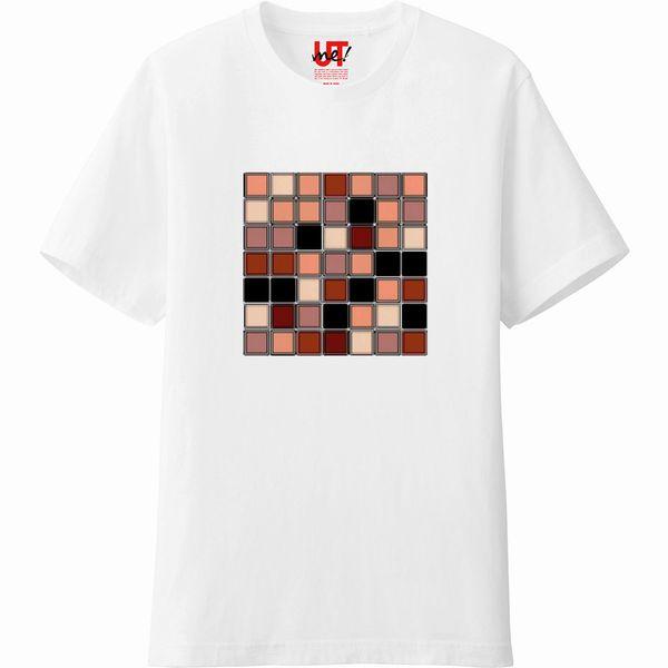 pool_ドライブラシヒストグラムエッジの強調Tシャツ